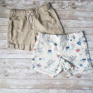 2 pairs of Girls Shorts